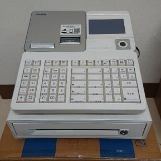 カシオ(CASIO)のカシオレジスターSR-S4000-20SWE(ホワイト)(店舗用品)