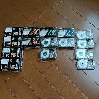 カシオ(CASIO)のカシオ ネームランド本体&テープ15本セット(テープ/マスキングテープ)