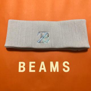 ビームス(BEAMS)のzepanese club ヘアバンド グレー(その他)