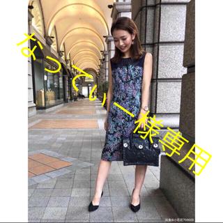 グレースコンチネンタル(GRACE CONTINENTAL)のグレースコンチネンタル ワンピース 刺繍 スパンコール(ひざ丈ワンピース)