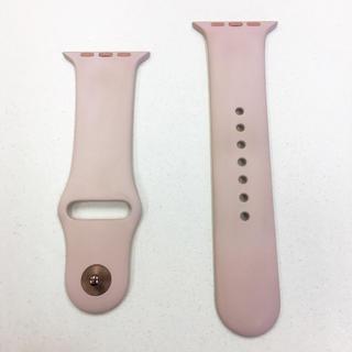 アップルウォッチ(Apple Watch)のアップル純正バンド ピンクサンド Apple Watch 42mm 44mm(その他)