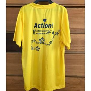 ミズノ(MIZUNO)の北九州マラソンTシャツ(ウェア)
