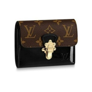 LOUIS VUITTON - 19ss LV 三つ折りミニ財布 ノワール コンパクト