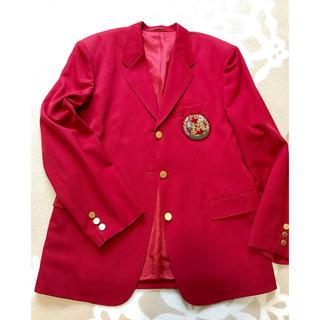 ピンクハウス(PINK HOUSE)のピンクハウス  ウール赤ジャケット(テーラードジャケット)