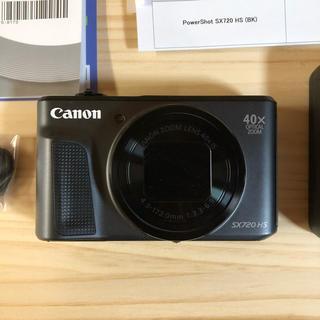 キャノン SX720 HS デジカメ 黒 Canon