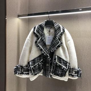 シャネル(CHANEL)のファーコート 美品(毛皮/ファーコート)