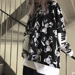 Drug Honey スケルトンテディ Tシャツ