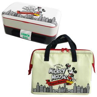 Disney - ★新品★ミッキー  ランチボックス&ランチバッグセット