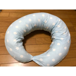 ベルメゾン(ベルメゾン)のオーガニック素材を使った授乳クッションにもなる抱き枕【美品】(その他)