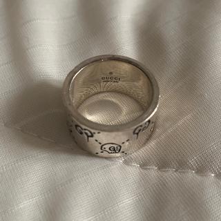 グッチ(Gucci)のGUCCI 12mmゴーストリング(リング(指輪))