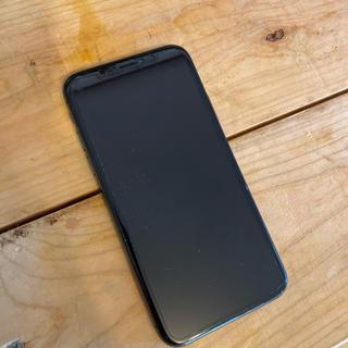 iPhone - iPhone X 64gb simフリー(Softbank)ブラック