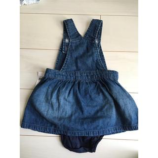 babyGAP - タグ付き baby gap ジャンパースカート オーバーオール