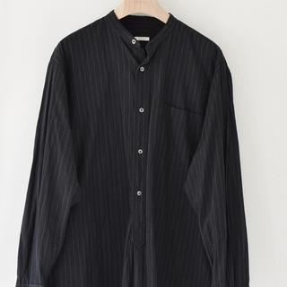 COMOLI - comoli chalk stripe shirts サイズ1 最終値下げ❗️