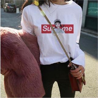 GU - 【新品】【大人気】ロゴ 長袖Tシャツ