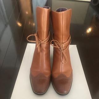 エレガンスヒミコ(elegance卑弥呼)のエレガンス卑弥呼 ショートブーツ 23.5cm(ブーツ)