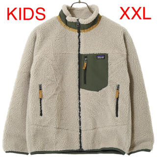 patagonia - patagonia フリース Kids Retro-X カーキ XXL 新品