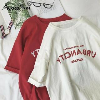 ZARA - 韓国 ファッション ロゴ プリント Tシャツ