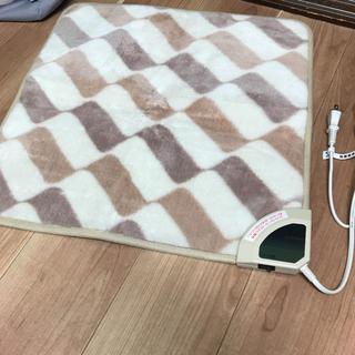 ヤマゼン(山善)の山善 ミニマット(50角)ホットカーペット(電気毛布)