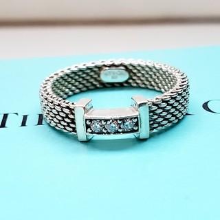 ティファニー(Tiffany & Co.)の正規品 ティファニー ダイヤモンド 3P サマセットリング 8号(リング(指輪))