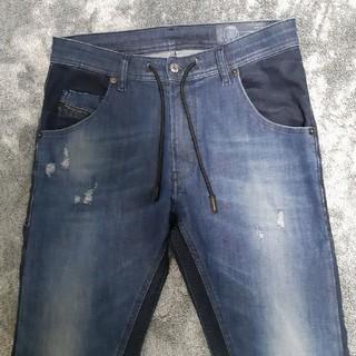 DIESEL - DIESEL jogg jeans KROOLEY 0678N
