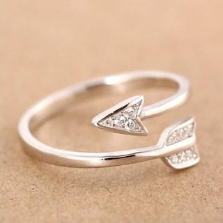 アローリング 指輪 フリーサイズ(リング(指輪))
