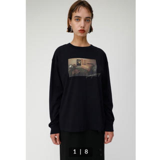 moussy - NIGHTS INN MOTEL LS Tシャツ