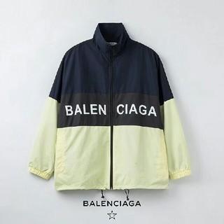 Balenciaga - 【即決】8200円 薄手 カッコいい ロゴ ゆったり ジャケット