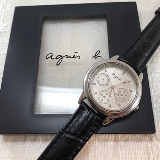 agnes b. - ② アニエスベー❤︎腕時計 【電池交換済み】