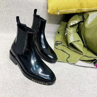 バレンシアガ(Balenciaga)のBalenciagaバレンシアガ レディース ブーツ 黒 23cm(ブーツ)