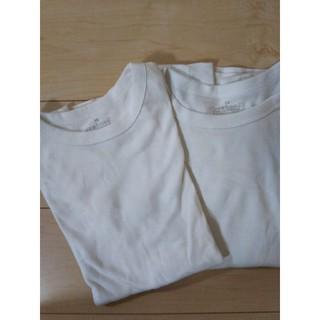 MUJI (無印良品) - 無印良品 Tシャツ 半袖 2枚セット
