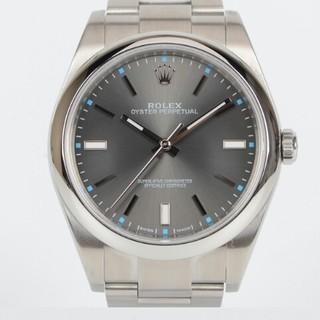 ROLEX - ロレックス深灰色の文字盤自動機械男子腕時計