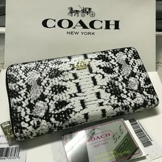 COACH - 新品未使用 coach コーチ 長財布F53659