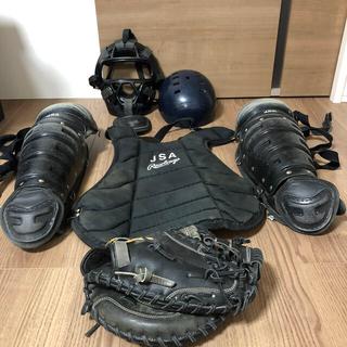 ミズノ(MIZUNO)のソフトボール キャッチャー防具 グローブ(ミット)(防具)
