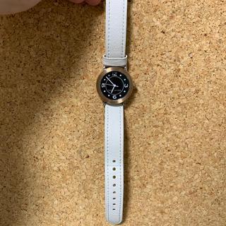 マークバイマークジェイコブス(MARC BY MARC JACOBS)のマーク 白 腕時計(腕時計)