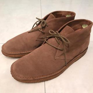 ユナイテッドアローズ(UNITED ARROWS)のLUCIANO FABBRI 27.0cm チャッカブーツ スエード(ブーツ)