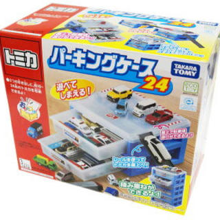 Takara Tomy - トミカ 新品 トミカ パーキングケース 24タカラトミープラレール  収納片付け