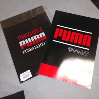 プーマ(PUMA)のPUMAのノート二冊(ノート/メモ帳/ふせん)