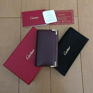 カルティエ(Cartier)の再値下カルチェ☆キーケース 美品(キーケース)