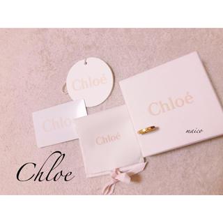 クロエ(Chloe)のChloe☆ゴールド×赤リング(リング(指輪))