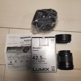 Panasonic - Panasonic 単焦点レンズ 42.5 F1.7 美品!!