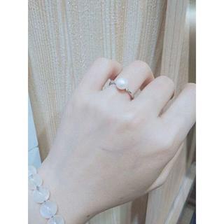 女性用アクセサリー パール デザインリング(リング(指輪))