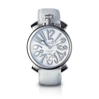 GaGa MILANO - ガガミラノ GaGaMilano 48 腕時計 男女兼用 クォツ 美品