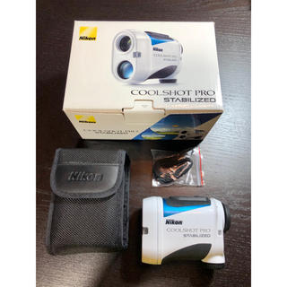 Nikon - ニコン クールショットプロ スタビライズド レーザー距離計 保証書付