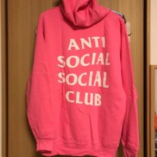 Supreme - M anti social social clubパーカー