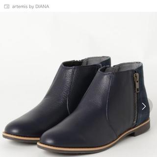 DIANA - aritems by DIANA 本革ショートブーツ