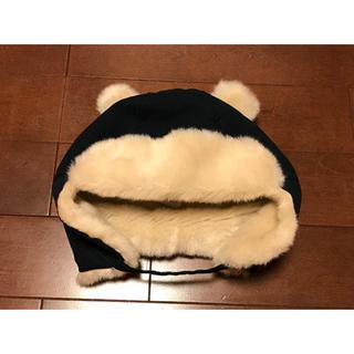 H&M - H&M クマ耳ふわふわベビー帽