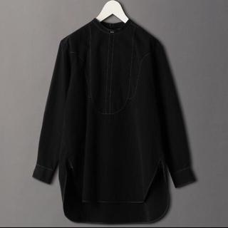 BEAUTY&YOUTH UNITED ARROWS - 新品タグ付 roku バンドカラー シャツ 黒 38