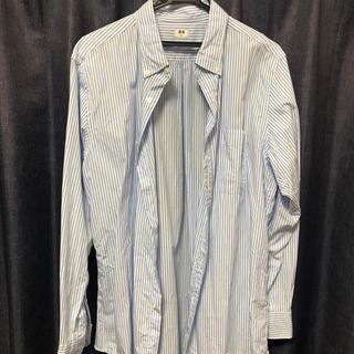 ユニクロ(UNIQLO)のストライプシャツ(シャツ)