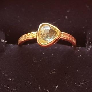 カオル(KAORU)のお値下げ!アトリエカオル イエローサファイアリング(リング(指輪))