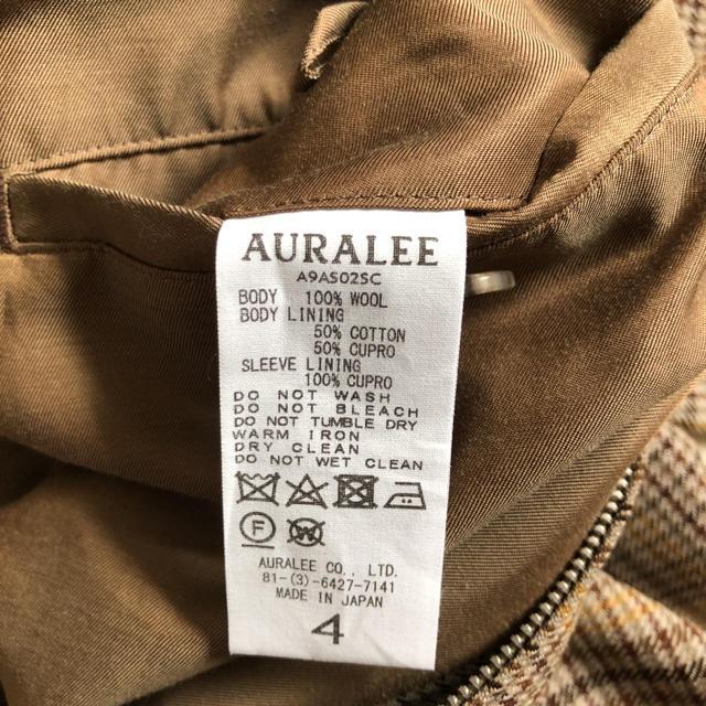 COMOLI(コモリ)の19fw完売品 オーラリーガンクラブチェック ブルゾン メンズのジャケット/アウター(ブルゾン)の商品写真